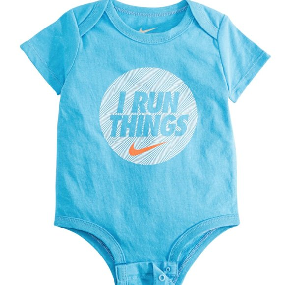Nike Other - Baby Boy One Piece 0 to 3 Months Blue NWT Nike